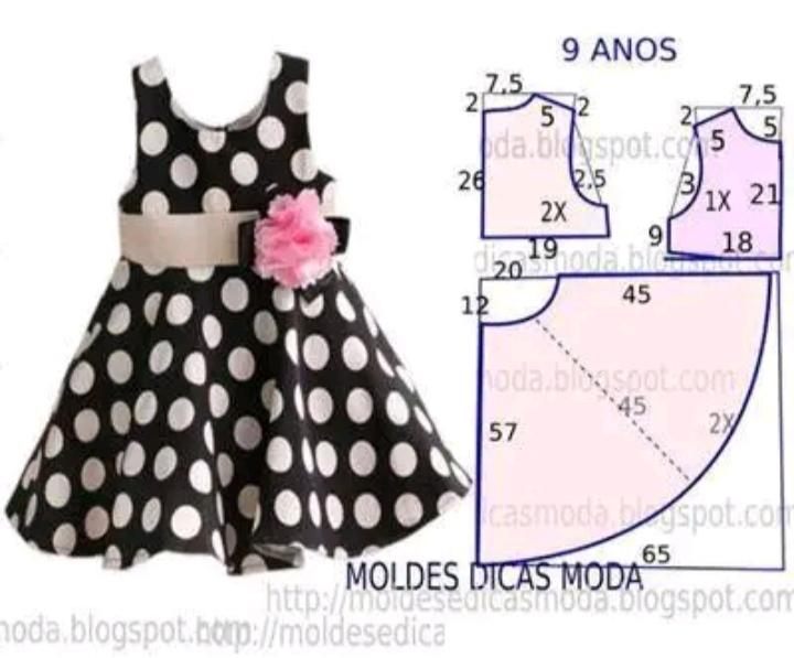 Complete Dress Pattern