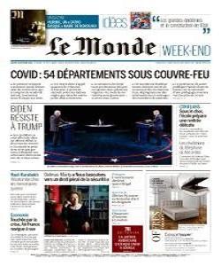 lemonde, le monde magazine 24 October 2020, le monde magazine, le monde news, free pdf magazine download.