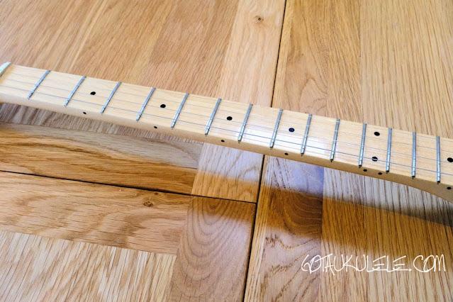 Fender Tenor Tele Guitar Ukulele Hybrid neck