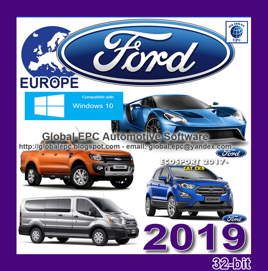 FORD EUROPE EPC 02.2019