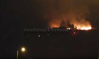 ΝΕΟΤΕΡΑ - Σώθηκαν σπίτια την τελευταία στιγμή σε Προφήτη Ηλία και Βελβίτσι - Ολονύχτια μάχη [video]