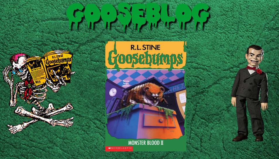 Retro Oasis: Gooseblog: Goosebumps #18: Monster Blood II