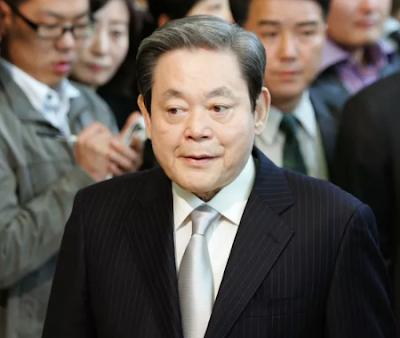 وفاة رئيس سامسونغ لي كون هي عن 78 عاما