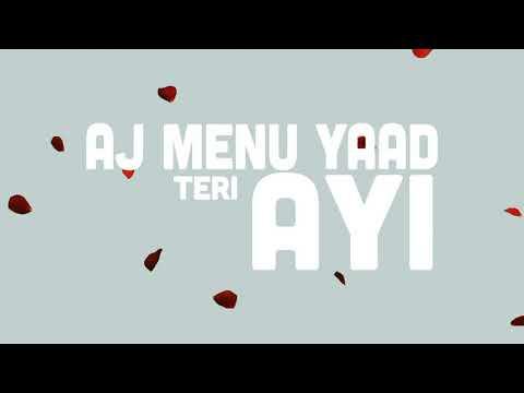 Yaad Teri Aayi Lyrics in English - Fateh | Punjabi Song 2020