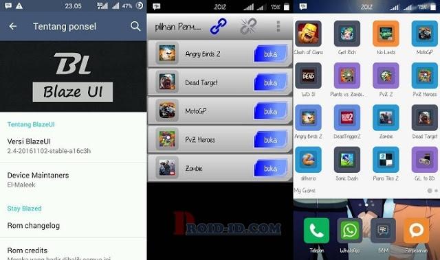 ROM BlazeUI v2.4 Lollipop Andromax A Terbaru