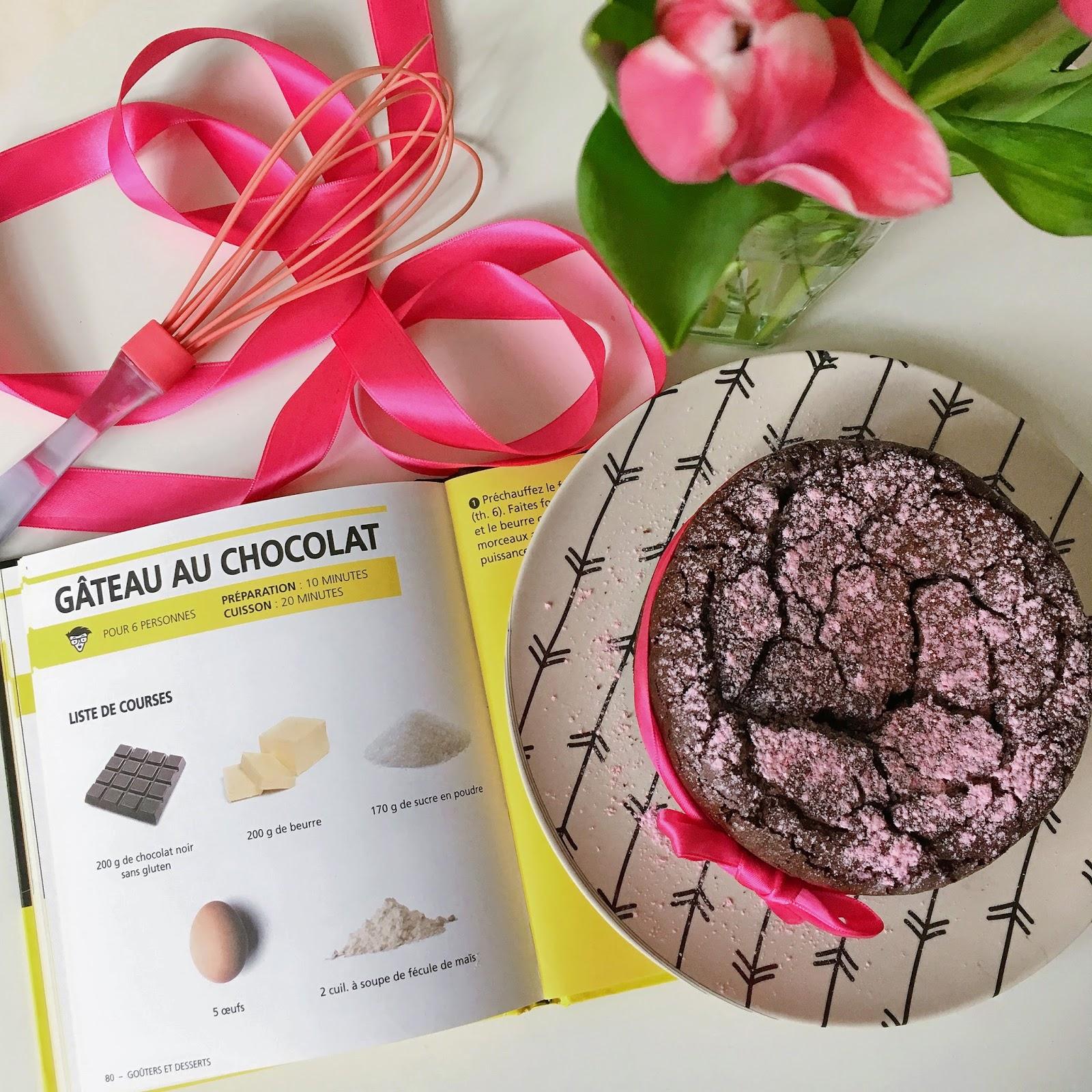 cuisine facile recette gateau au chocolat sans gluten rapide bon les gommettes de melo vahiné