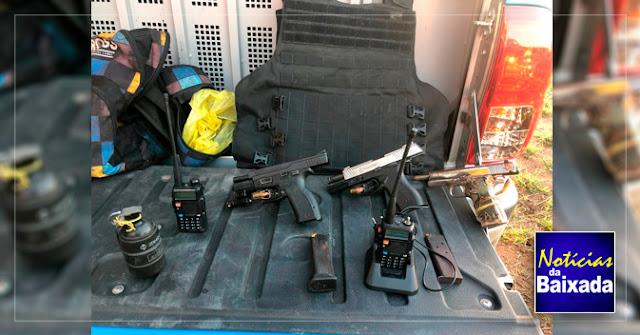 Confronto em comunidade na Baixada deixa quatro mortos