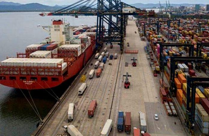 Cresce movimentação de cargas nos portos brasileiros no 1º semestre