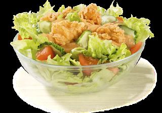 Летнее меню в KFC, Летнее меню в КФС, Летнее меню в KFC состав цена стоимость пищевая и энергетическая ценность, Летний Салат состав цена стоимость пищевая и энергетическая ценность