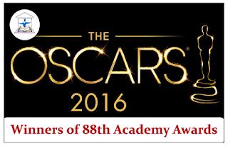 List of Winners of 88th Academy Awards (Oscar Awards)
