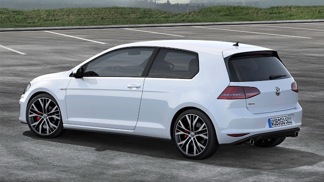 All-New Volkswagen Golf GTI rear