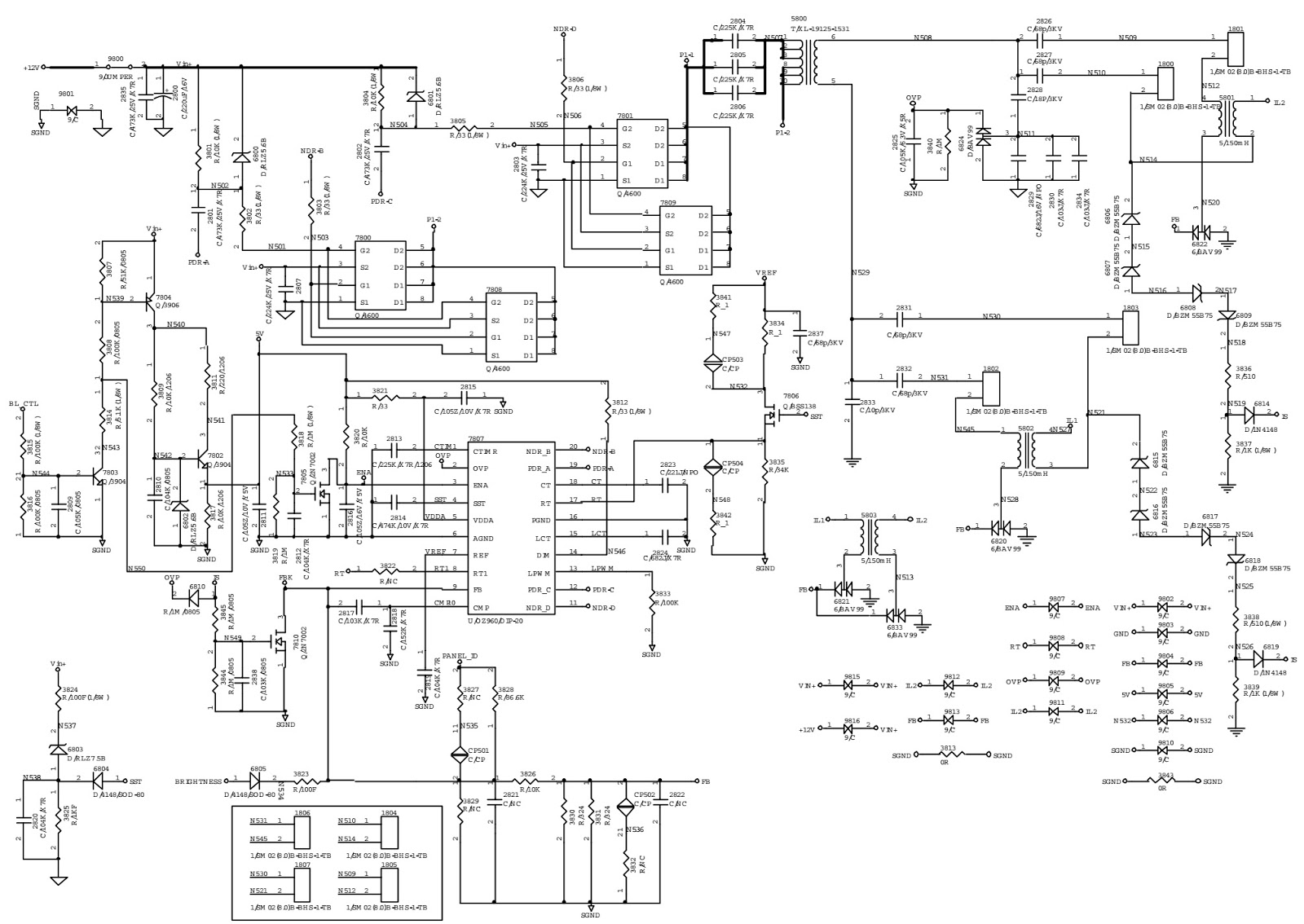 Master Electronics Repair Philips 190 P5