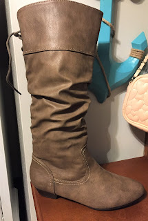 Kmart Tan Leather Boots