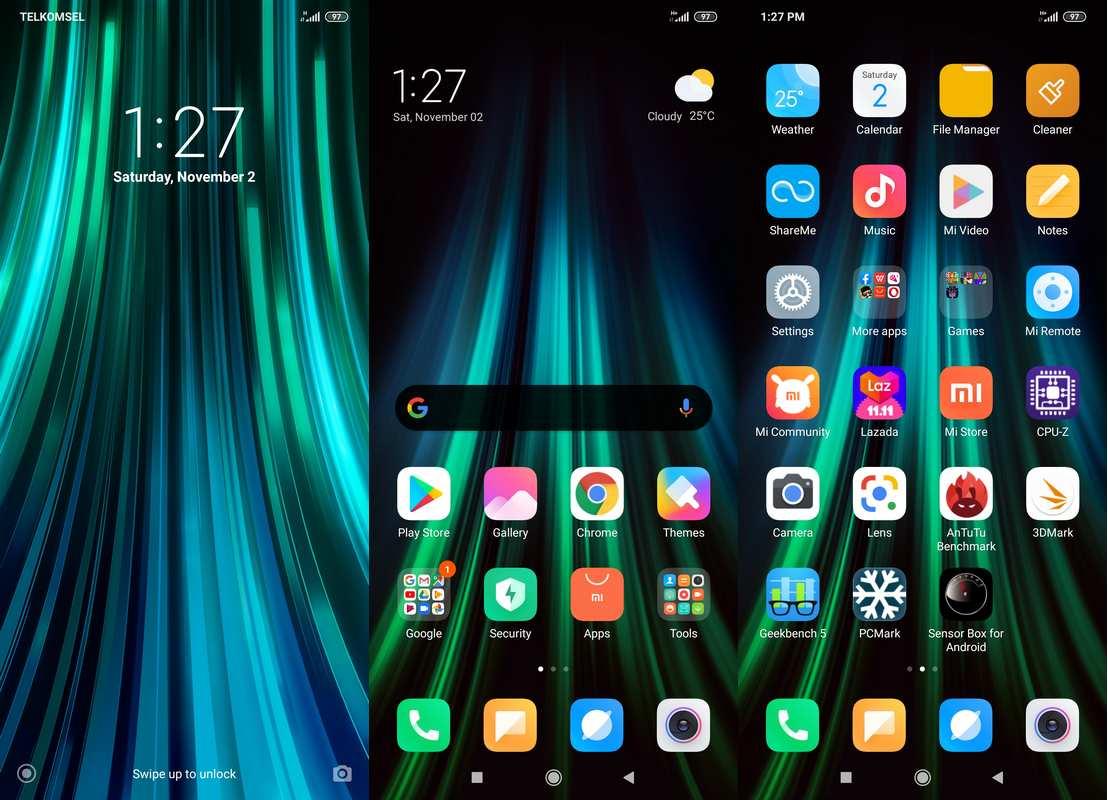 Software & Fitur Xiaomi Redmi Note 8 Pro