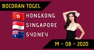 Bocoran Togel Sydney 14 Agustus 2020