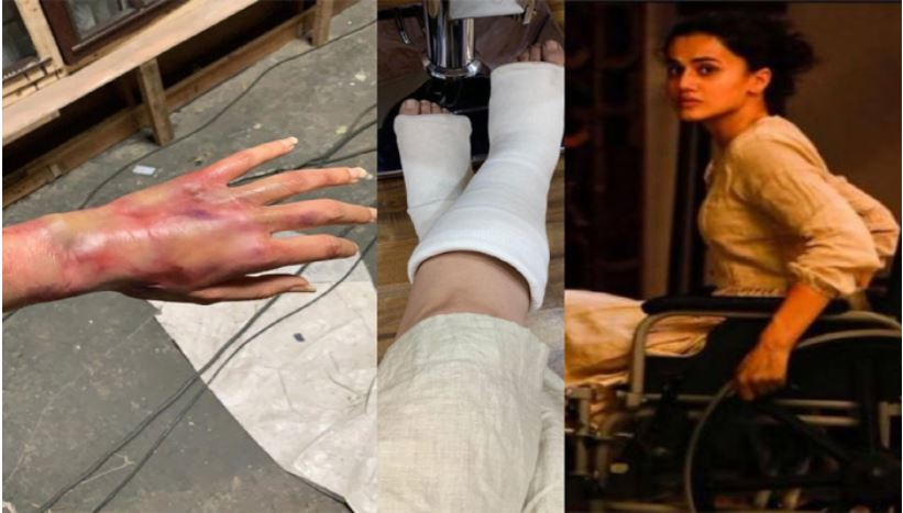 tapsee pannu accident