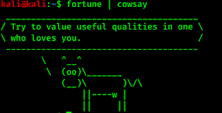 cow telling fortune
