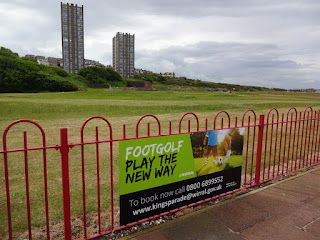 Kings Parade FootGolf in New Brighton
