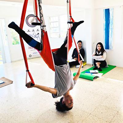formacion aeroyoga, formacion, profesores, aeroyoga, yoga aereo, yoga aerea, air yoga, teacher training, puerto rico, certificación, acreditación, yoga alliance
