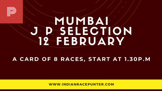 Mumbai Jackpot Selections 12 February