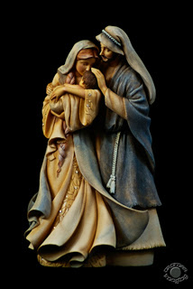 Professional quality fine art product photograph of a Holy Family Christmas figurine in Pocatello, Bannock, Idaho by Cramer Imaging