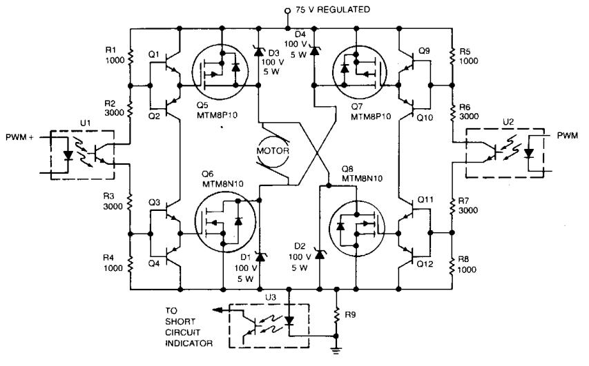 digital ics drive amplifier circuit diagram