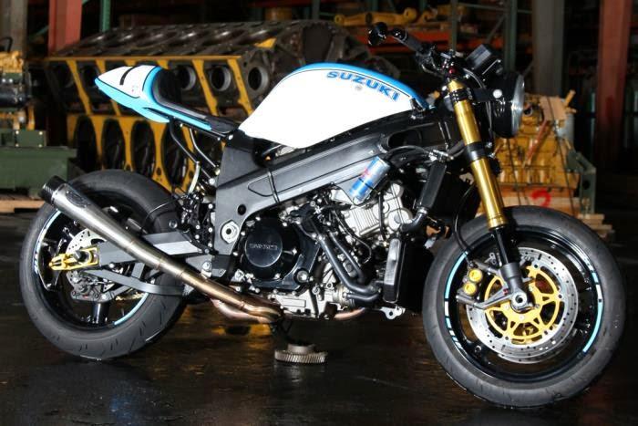 TL1000R Racer - RocketGarage - Cafe Racer Magazine