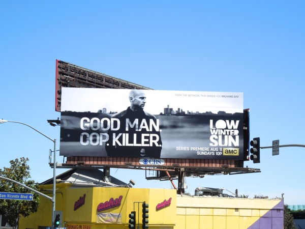 Low Winter Sun season 1 billboard Sunset Strip