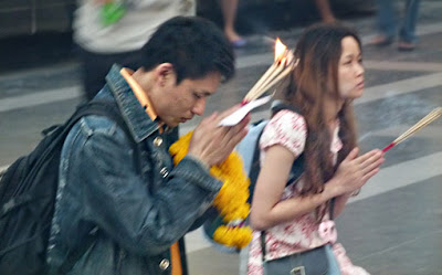 In front of Central World Bangkok