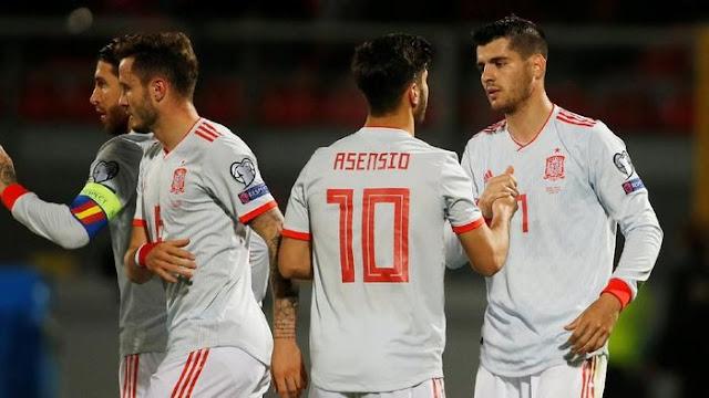 Hasil Kualifikasi Piala Eropa: Morata Dua Gol, Spanyol Tekuk Malta 2-0
