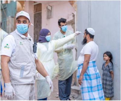 المسح النشط في السعودية يكشف عن 740 حالة جديدة