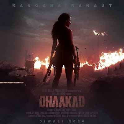Kangana Ranaut Dhaakad