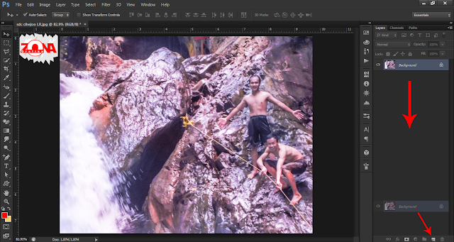 Cara Membuat Penampakan Hantu Dengan Adobe Photoshop CS6