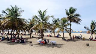 The nicest beach in Luanda