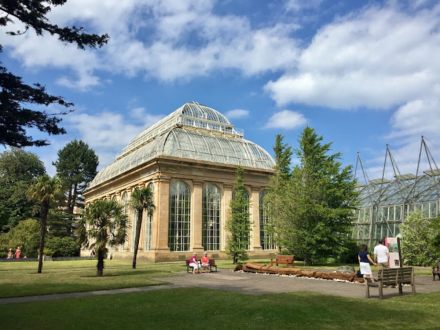 Victorian Palm Glasshouse at the Royal Botanic Gardens Edinburgh