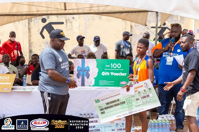 Ismael, Lariba Emerged Winners Of Koforidua Marathon 2020