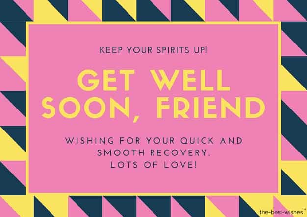 thinking of you get well soon messages for frnd