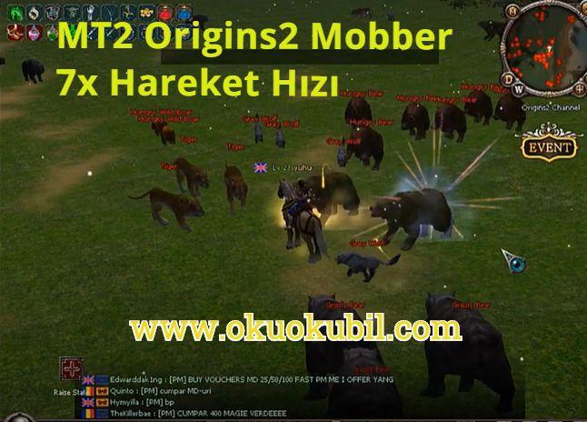 MT2 Origins2 Mobber 7x Hareket Hızı + saldırı Hızı Hilesi Mayıs 2020