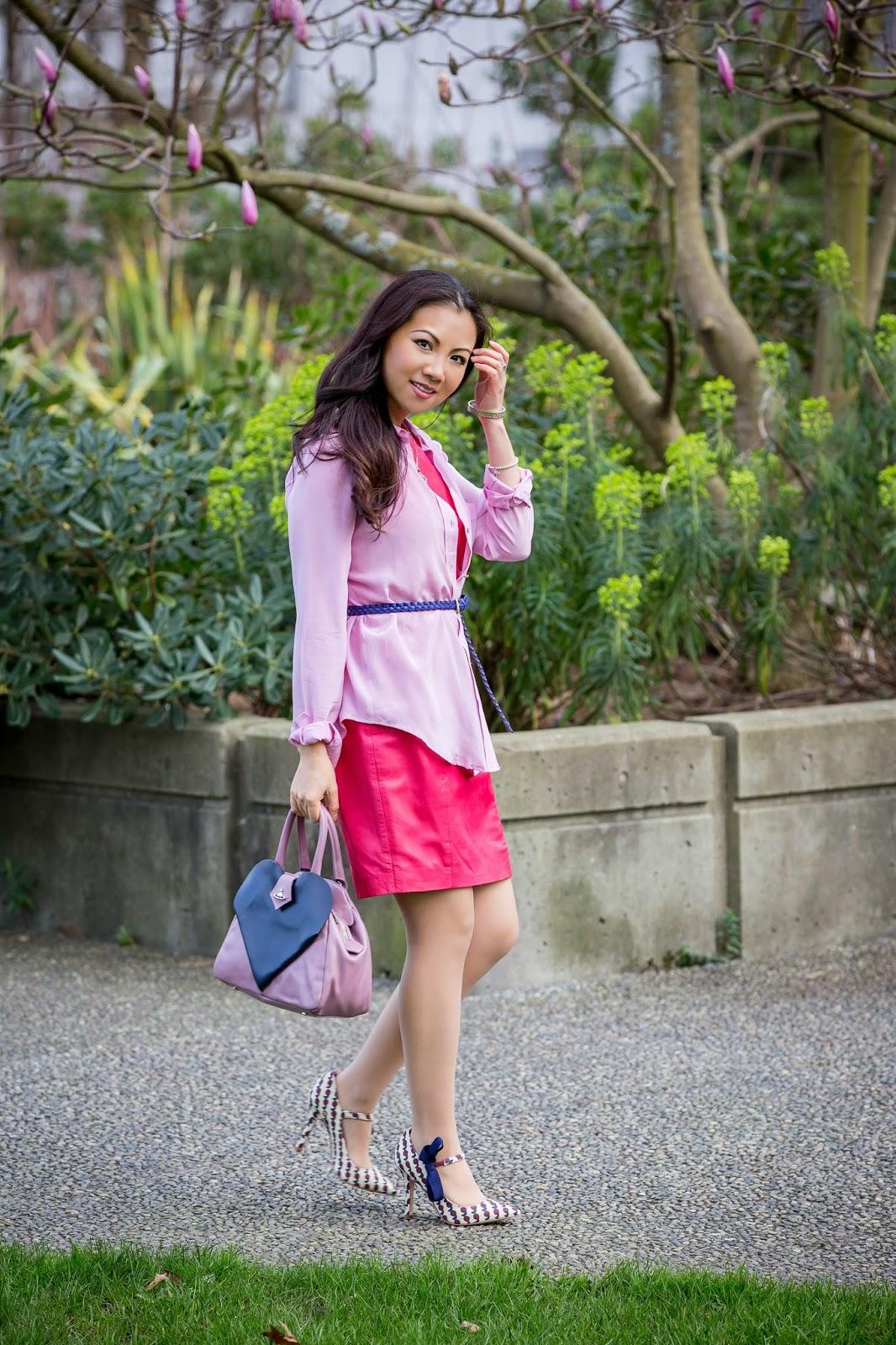 Valentina And Aveline Pink Shirt Day