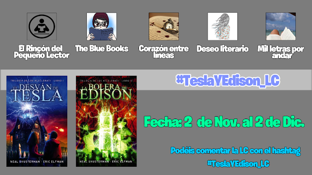 Lectura Conjunta + Sorteo: Trilogía Accelerati ( #teslayedison_Lc)