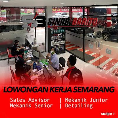 Loker Bengkel Mobil Sinar Bintaro Semarang Membutuhkan Sales Advisor, Mekanik Junior & Senior, Detailing & Cuci Mobil