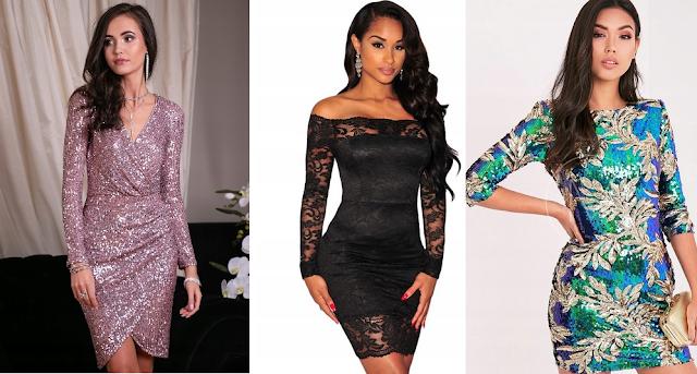 Sukienki na Sylwestra - kilka moich propozycji