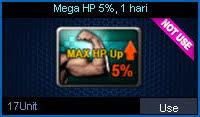 Mega HP 5%