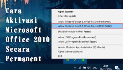 Cara Aktivasi Microsoft Office 2010 Secara Permanent Aman Dan Percaya