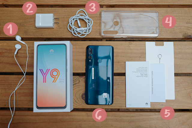 Patty Villegas - The Lifestyle Wanderer - Huawei - Y9 - Prime - 2019 - Review - Unboxing