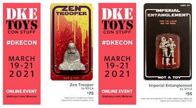 DKECON 2021 Exclusive Star Wars Stormtrooper Resin Figures by RYCA x DKE Toys
