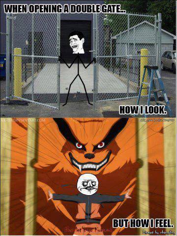 Funny Naruto Meme Manga Memes Opening A Double Gate
