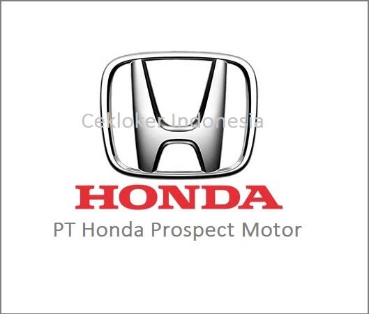 Info Lowongan Kerja Baru PT Honda Prospect Motor KARAWANG 2019