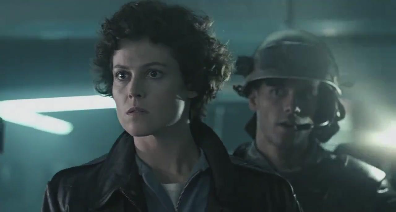 Ellen Ripley e Dwayne Hicks