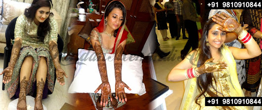 Wedding karva chauth Mehndi Design